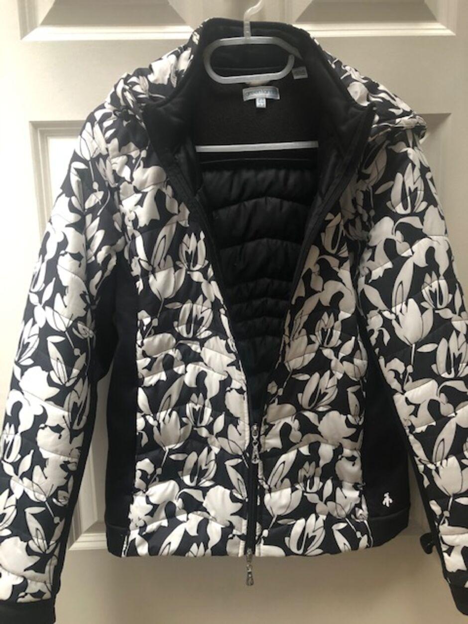 Green lamb jacket