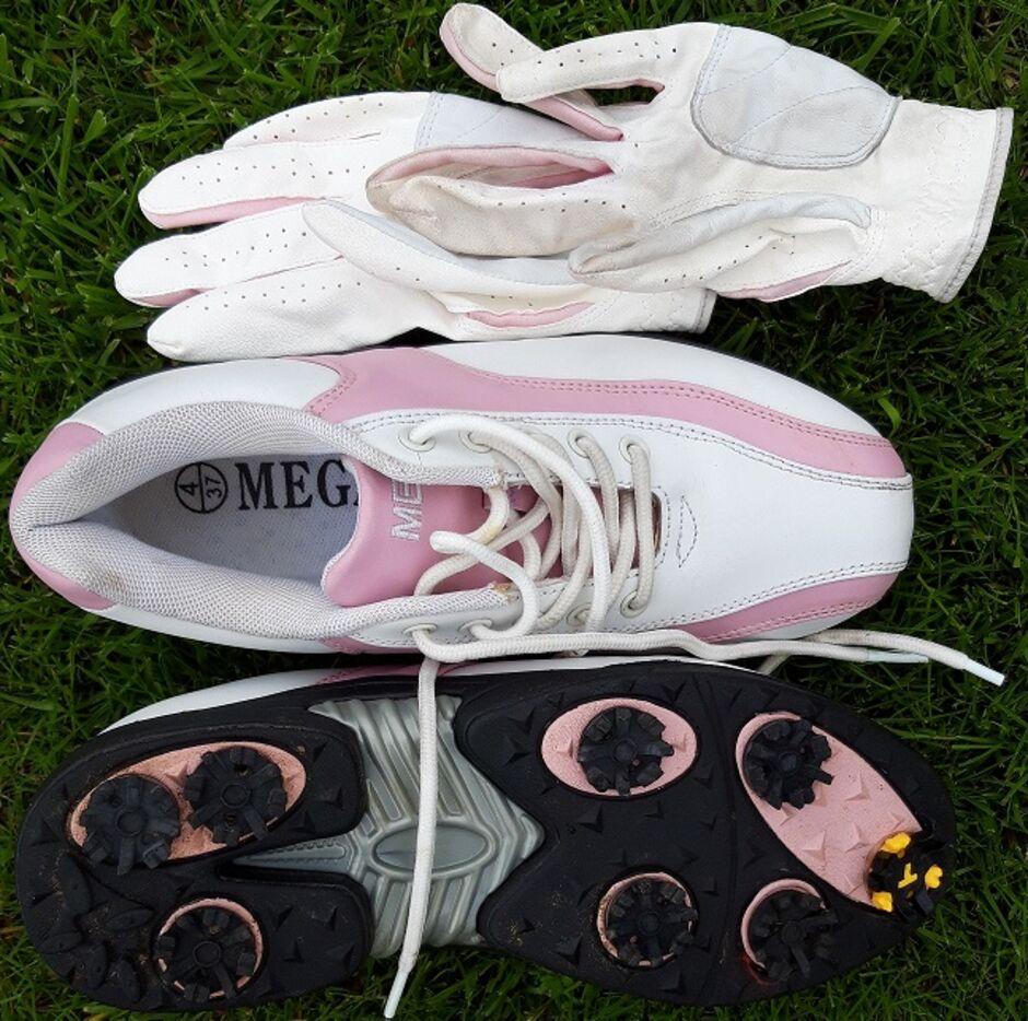 MEGA shoes and gloves